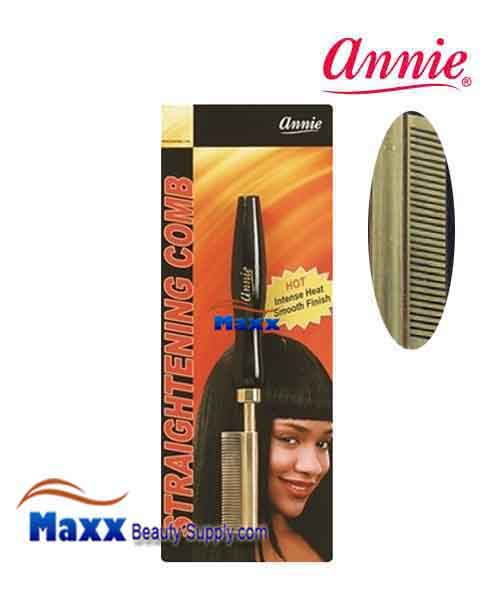 Annie #5501 Straightening Comb - Small temple medium teeth